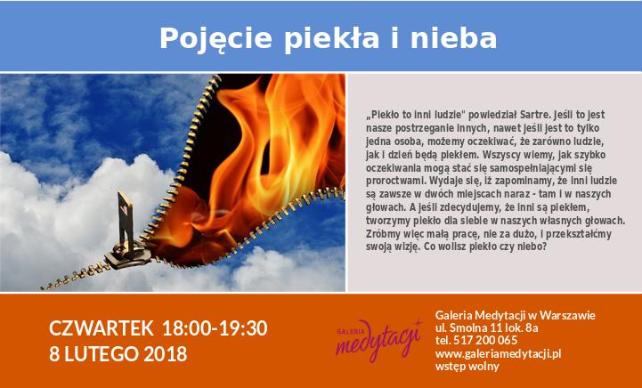 Pojęcie nieba i piekła. Spotkanie w Warszawie @ Galeria Medytacji w Warszawie