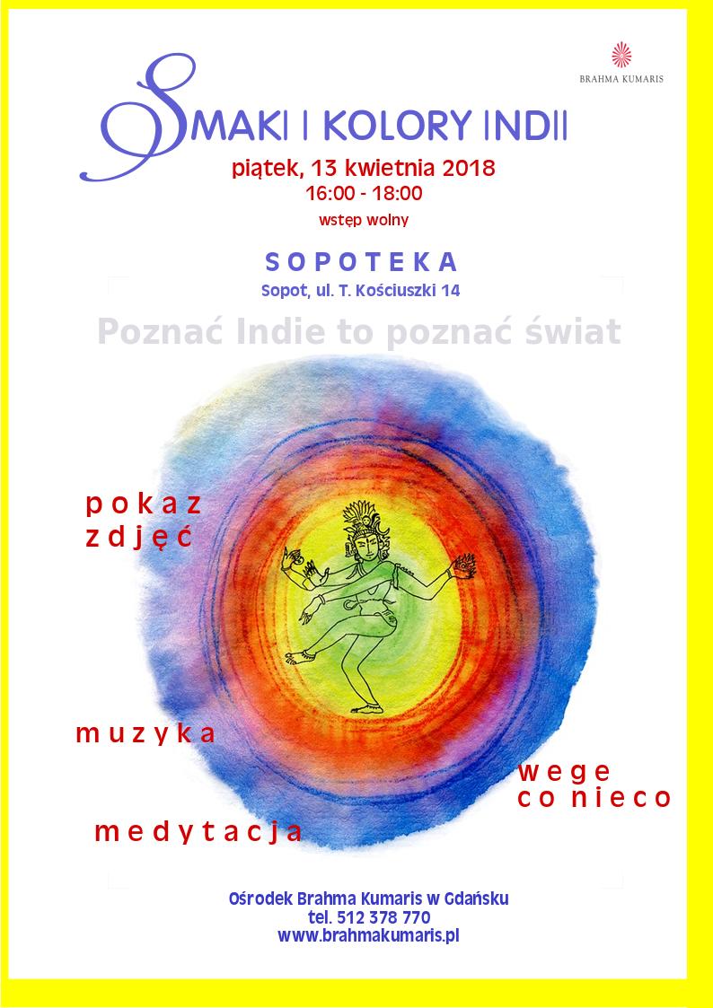 Smaki i kolory Indii. Spotkanie w Sopocie @ Galeria multimedialna Sopoteka. II p.,  Sopot Centrum