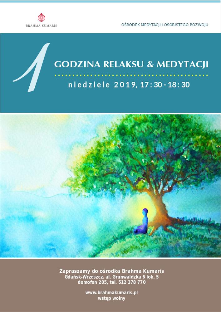 Jedna godzina medytacji w Gdańsku @ Ośrodek Brahma Kumaris w Gdańskiu