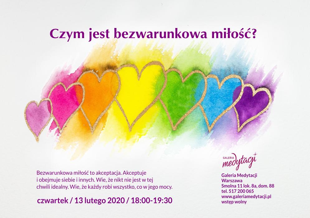 Czym jest bezwarunkowa miłość? Spotkanie w Galerii Medytacji w Warszawie @ Galeria Medytacji w Warszawie