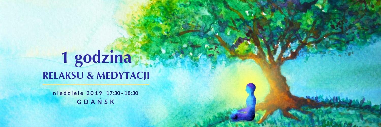 baner jednogodzina medytacja w niedzielę 2019 GDAŃSK