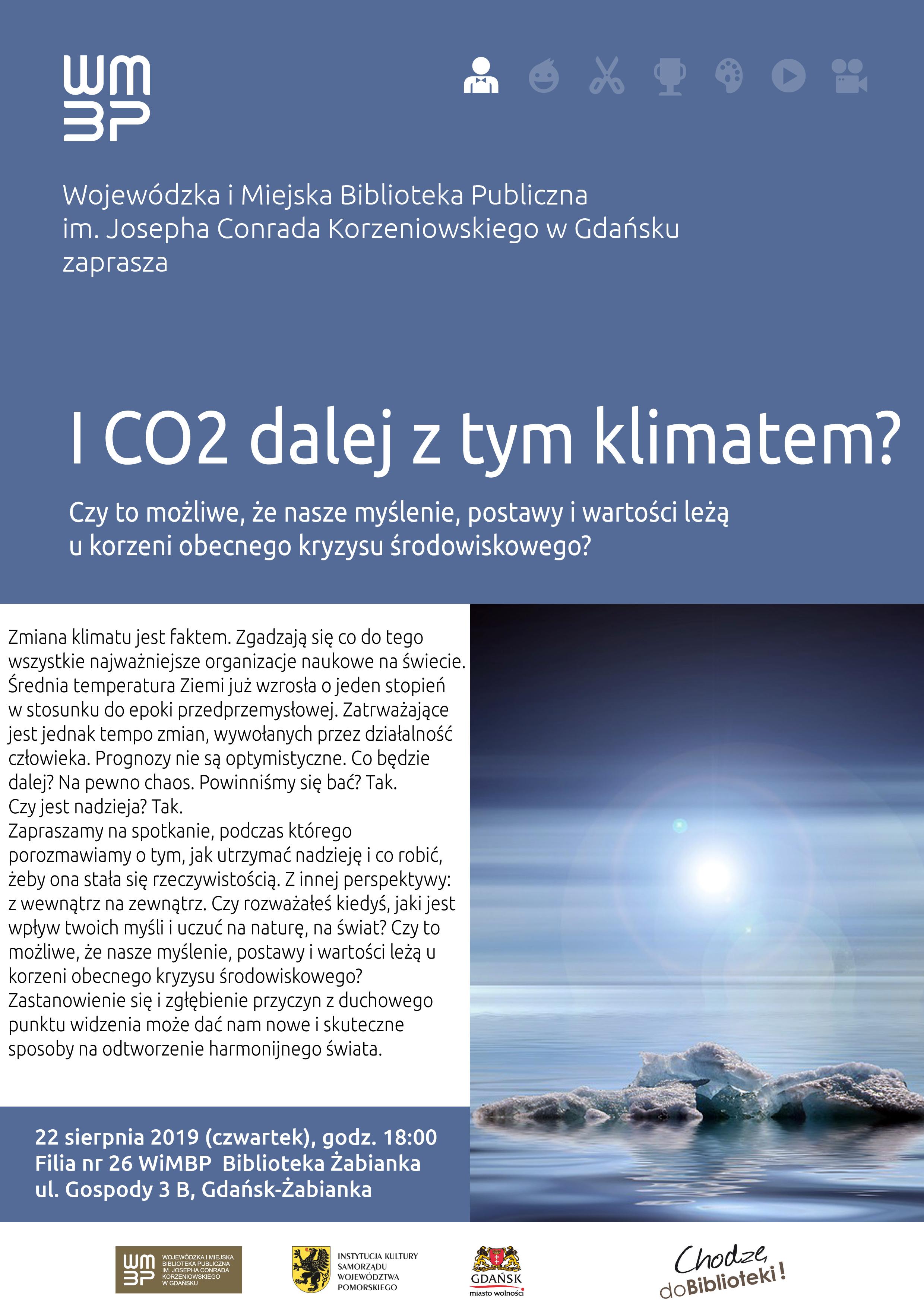 I CO2 dalej z tym klimatem? Spotkanie z Anetą Łój, wolontariuszką w elektrowni słonecznej w Radżastanie, Indie @ Wojewódzka i Miejska Biblioteka Publiczna w Gdańsku