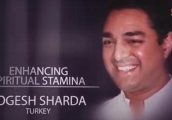 Wzmacnianie duchowej wytrzymałości – wywiad z Yogeshem Shardą z Turcji