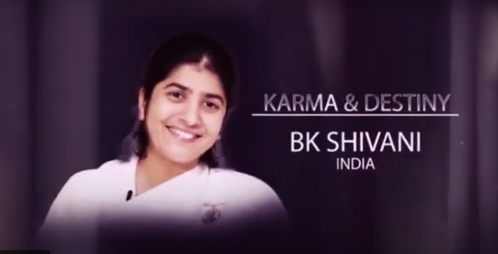 Karma czy przeznaczenie. BK Shivani z Indii. Wykład online z serii 21 Master Classes @ Ośrodek Brahma Kumaris Gdańsk