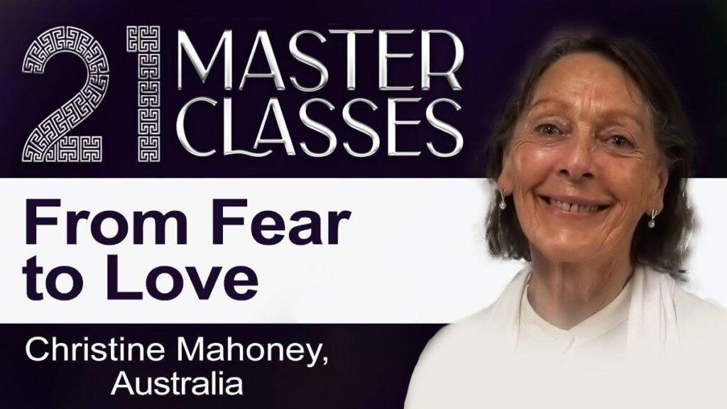 Od lęku do miłości. Wywiad z Christine  Mahoney z Australii. Wydarzenie online z serii 21 Master Classes @ wydarzenie online FB brahmakumarisgdansk/live/